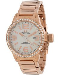 TW Steel Watch pink - Lyst