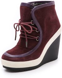 United Nude Urban Chukka Wedge Booties - Lyst