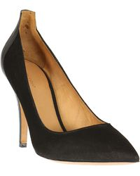Isabel Marant Suede and Leather Pumps - Lyst