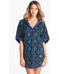 Kensie Chilled Out Poncho - Lyst