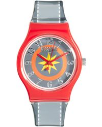 Boutique Moschino - Be Fashion Red Pop Watch - Lyst