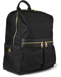 Mulberry - Henry Leather-Trimmed Nylon Backpack - Lyst
