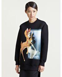 Givenchy - Bambi Print Sweatshirt - Lyst