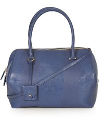 Topshop Angled Holdall - Lyst