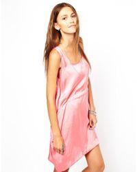Cheap Monday Printed Day Dress - Lyst