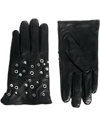 SELECTED - Stud Gloves - Lyst