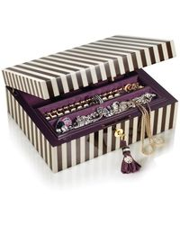 Henri Bendel Lacquer Jewelry Box - Lyst