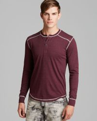 Threads For Thought - Drop Shoulder Henley - Lyst