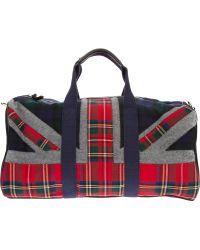 Hackett - Union Jack Duffle Bag - Lyst