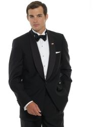 Brooks Brothers One-Button Shawl Collar Tuxedo Jacket - Lyst