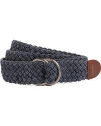 Brooks Brothers - Cotton Dring Macrame Belt - Lyst