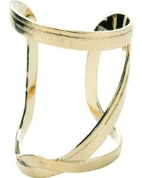 Saint Laurent Abstract Ring - Lyst