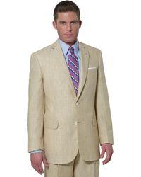 Brooks Brothers Irish Linen Plaid Madison Fit Suit - Lyst