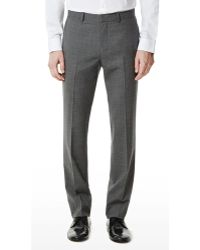 Theory Marlo Suit Pant in New Tailor Wool Bistretch - Lyst