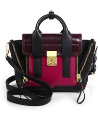 3.1 Phillip Lim Pashli Mini Colorblock Satchel - Lyst