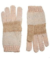 Mango - Sequin Gloves - Lyst