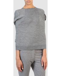 Marc Jacobs Long Sleeve Sweater - Lyst