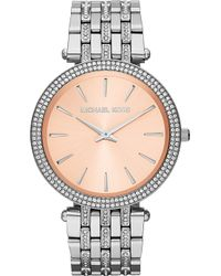 Michael Kors Darci Stainless Steel Watch - Lyst