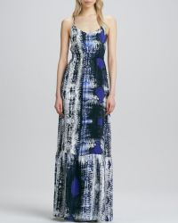 Parker Anna Printed Maxi Dress - Lyst