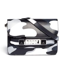 Proenza Schouler Ps11 Mini Classic Camo Printed Shoulder Bag - Lyst