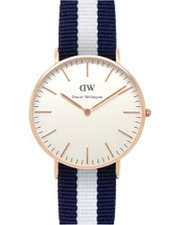 Daniel Wellington Classic Glasgow Ladies Watch gold - Lyst
