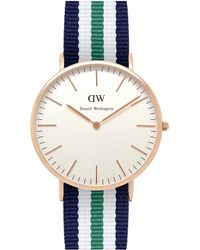 Daniel Wellington Classic Nottingham Watch gold - Lyst