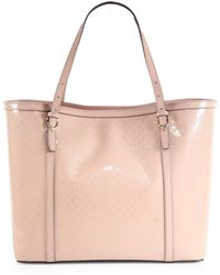 Gucci Nice Microssima Patent Leather Tote - Lyst