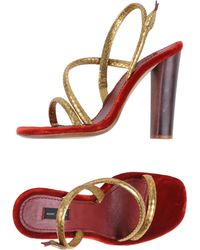 Marc Jacobs Highheeled Sandals - Lyst