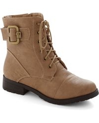 ModCloth Fall For You Boot - Lyst