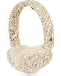 Ugg Cardy Knit Earmuffs - Lyst