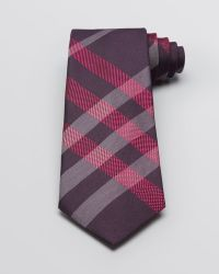 Burberry London Large Scale Check Woven Classic Tie - Lyst