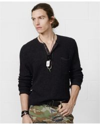 Denim & Supply Ralph Lauren Longsleeve Cotton Henley - Lyst