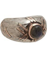Sandra Dini - Labradorite Ring - Lyst