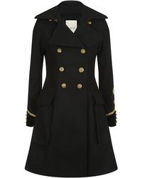 Denim & Supply Ralph Lauren - Military Wool Coat - Lyst