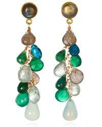 Wendy Mink Multi-Stone Drop Earrings - Lyst