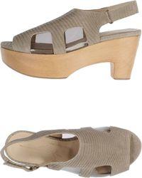 Ellen Verbeek Platform Sandals - Lyst
