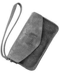 Gap - Leather Mini Clutch - Lyst