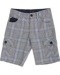 Fendi - Plaid Cargo Shorts - Lyst