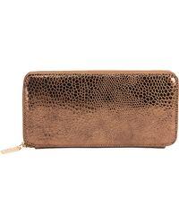 Hobo - Venice Leather Lucy Zip Wallet - Lyst