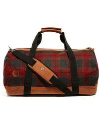 Mi-Pac | Mi Pac Plaid Duffle Bag | Lyst