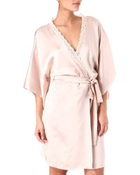 Stella McCartney - Clara Whispering Silk Robe - Lyst