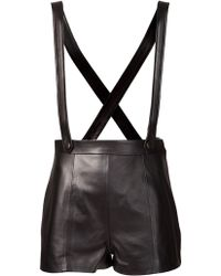 Olympia Le-Tan - Cut Out Short - Lyst