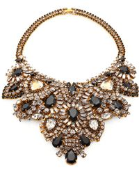 Aerin Erickson Beamon - Crystal Bib Necklace - Lyst