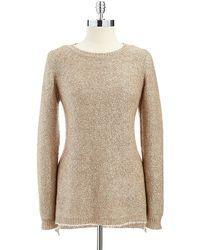 Calvin Klein Sequin Sweater - Lyst