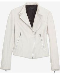 Rag & Bone Firebird Leather Motorcycle Jacket - Lyst