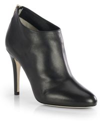 Jimmy Choo Mendez Leather Booties - Lyst