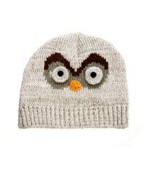 Anna Sui - New Look Owl Beanie - Lyst