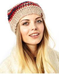 Anna Sui - Esprit Fancy Yarn Beanie - Lyst