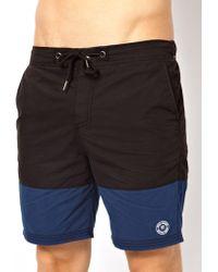 G-Star RAW - River Island Color Block Swim Shorts - Lyst