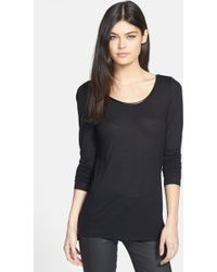 Trouvé Trouvé Colorblock Long Sleeve Tee - Lyst